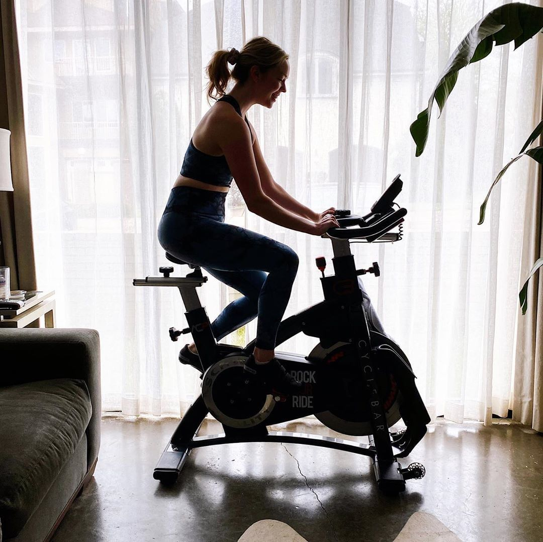 CycleBar GO among the best for online cycling workouts!